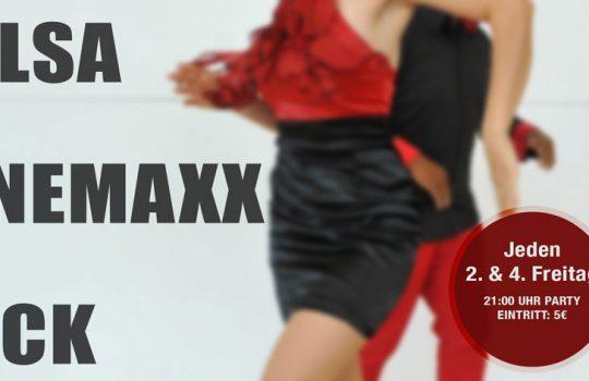 DIE LEGENDÄRE CINEMAXX SALSA PARTY // Freitag, 28. Februar // 21 Uhr